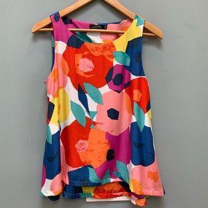 Kate Spade Saturday Floral Silk Blend blouse